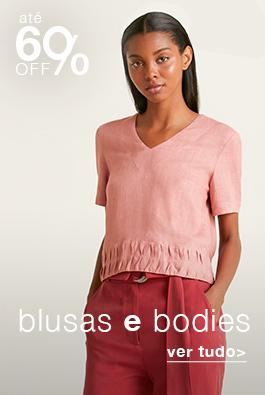 Blusas e Bodies